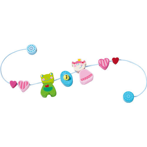 Heart Princess Pram Decoration