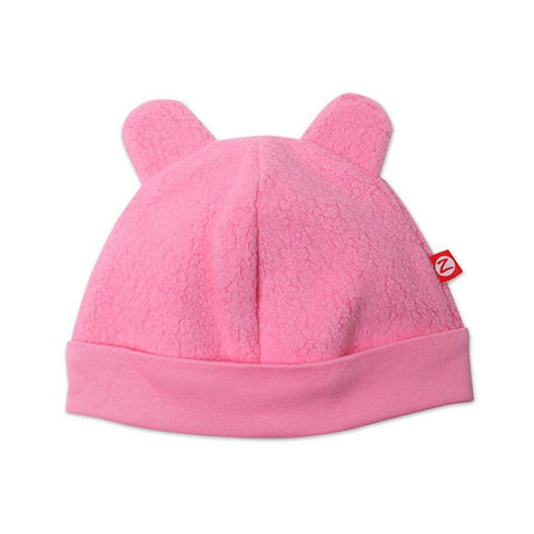 Cozie Fleece Hat - Hot Pink