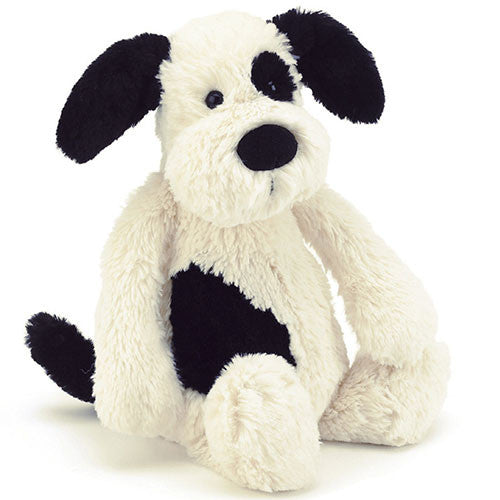 Bashful Black & Cream Puppy Large