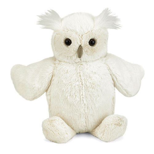 Woodland Cream Owl Medium