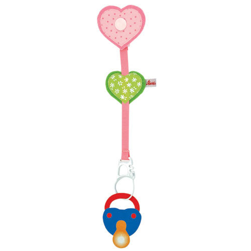 Heart Pacifier Chain