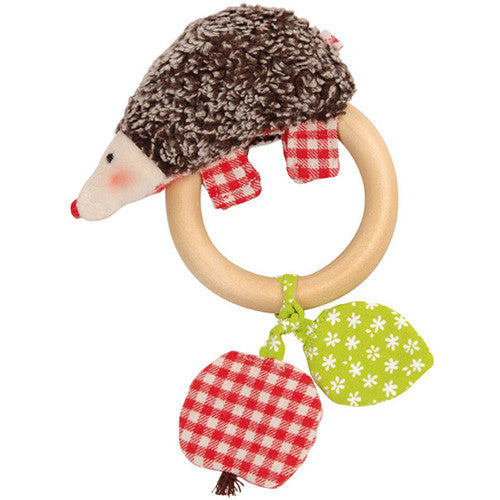 Hedgehog Teething Ring