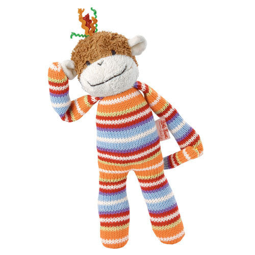 Cara Mello Knitted Monkey