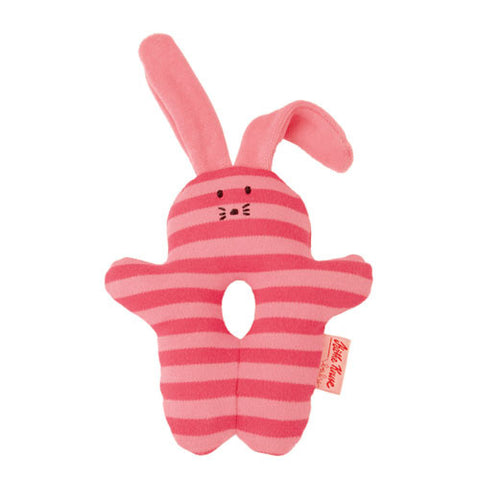 Organic Rattle Bunny Pink
