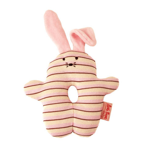 Organic Rattle Bunny Light Pink