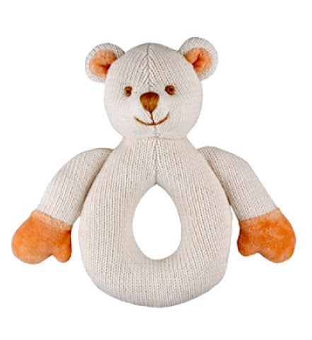 Bear Knitted Organic Teether