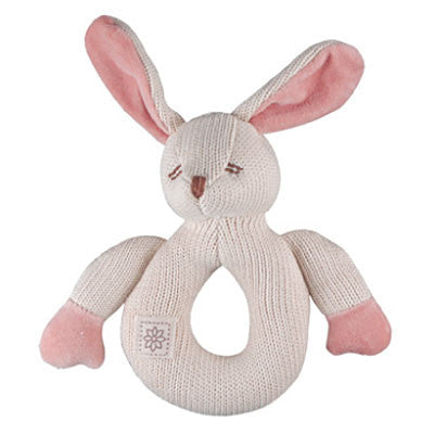 Bunny Knitted Organic Teether