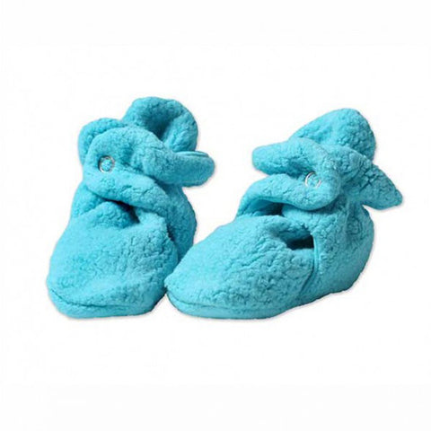 Cozie Fleece Booties - Pool