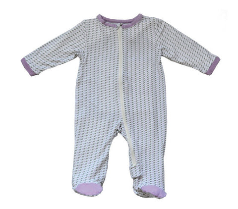 Bamboo Footed Sleeper – Hazy Lilac