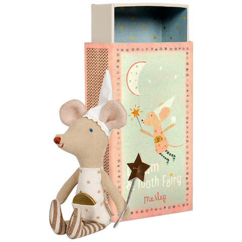 Tooth Fairy Mouse in Box