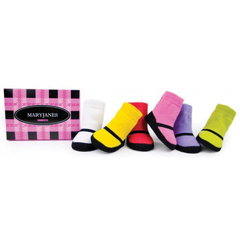 Maryjanes Bright Socks 6 Pair Set