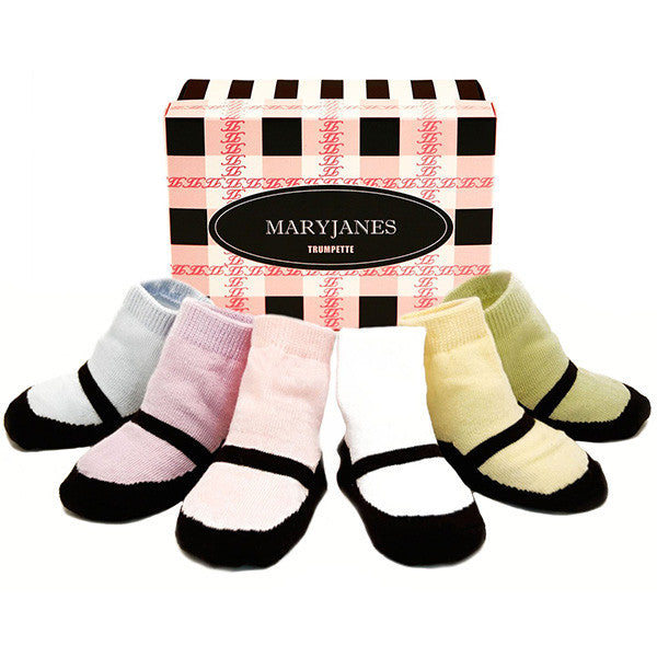Maryjanes Pastel Socks 6 Pair Set