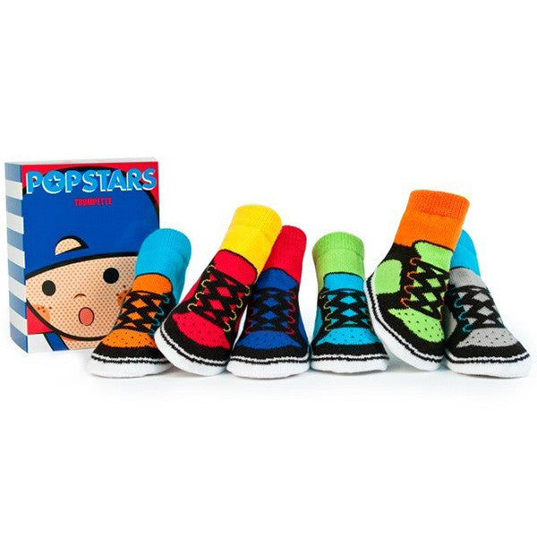 Popstars Socks 6 Pair Set