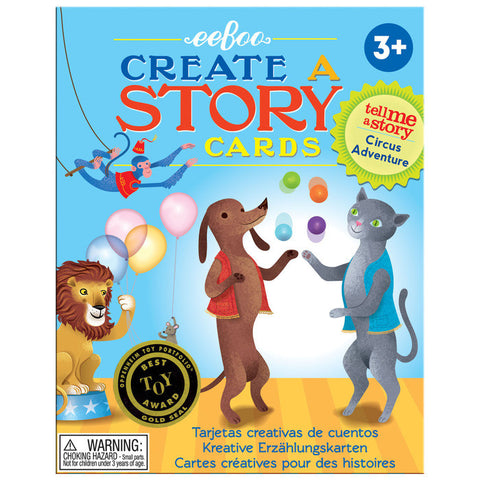 Circus Adventures Tell Me A Story Cards