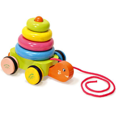 Turtle Stacker and Pull Toy from Vilac