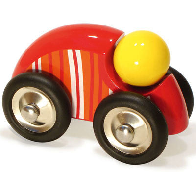 Large Striped Red Car from Vilac