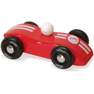 Striped Red Race Car from Vilac
