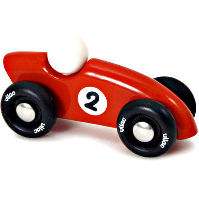 Mini Sporty Red Race Car from Vilac