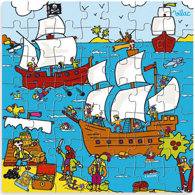 Pirate Puzzle from Vilac