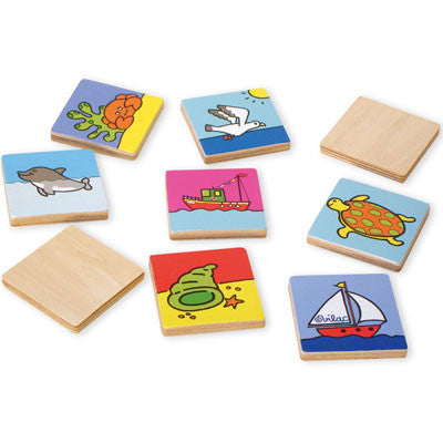 Sea World Memory Game from Vilac