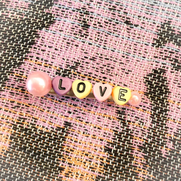 Hair Clip LOVE - mini