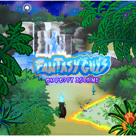 Fantasy Guys - On Poppy Island - LP CDROM