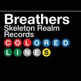 Breathers - Colored Lines Cassingle - 2 Track Cassette