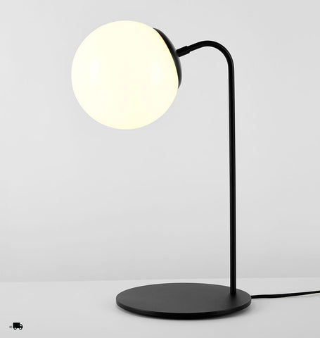 Desk Lamp (Black/Cream)