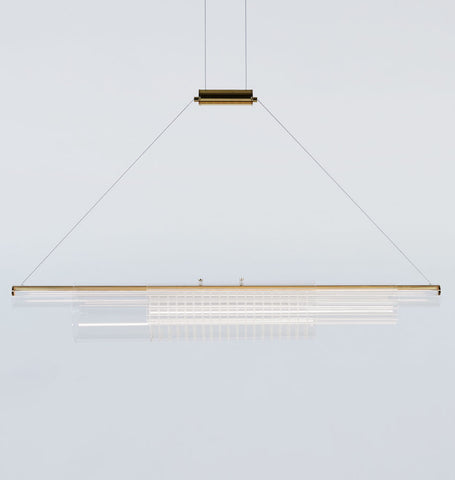 Coax - Pendant 03 (Polished Brass/Glass B)