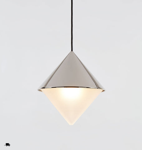 Pendant - Cone (Polished nickel)