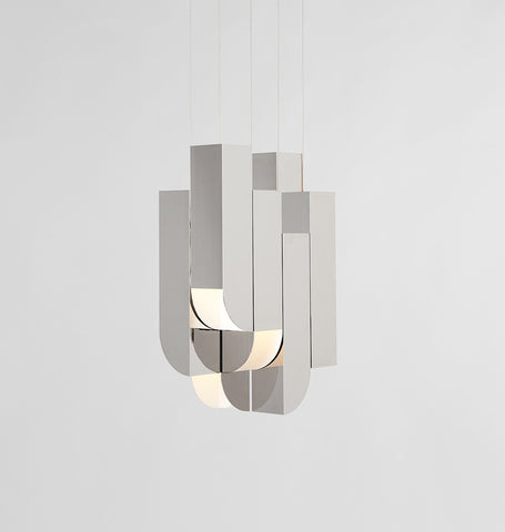 Pendant - 8 Lights (Polished nickel)