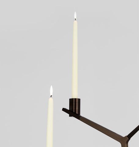 Tapered Candle (Ivory - Set of 2)