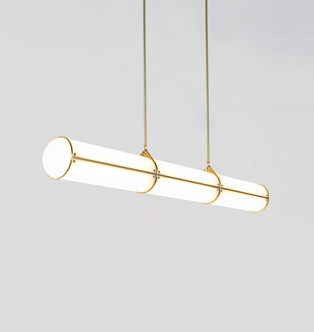 Straight - 3 Units (Brushed brass)