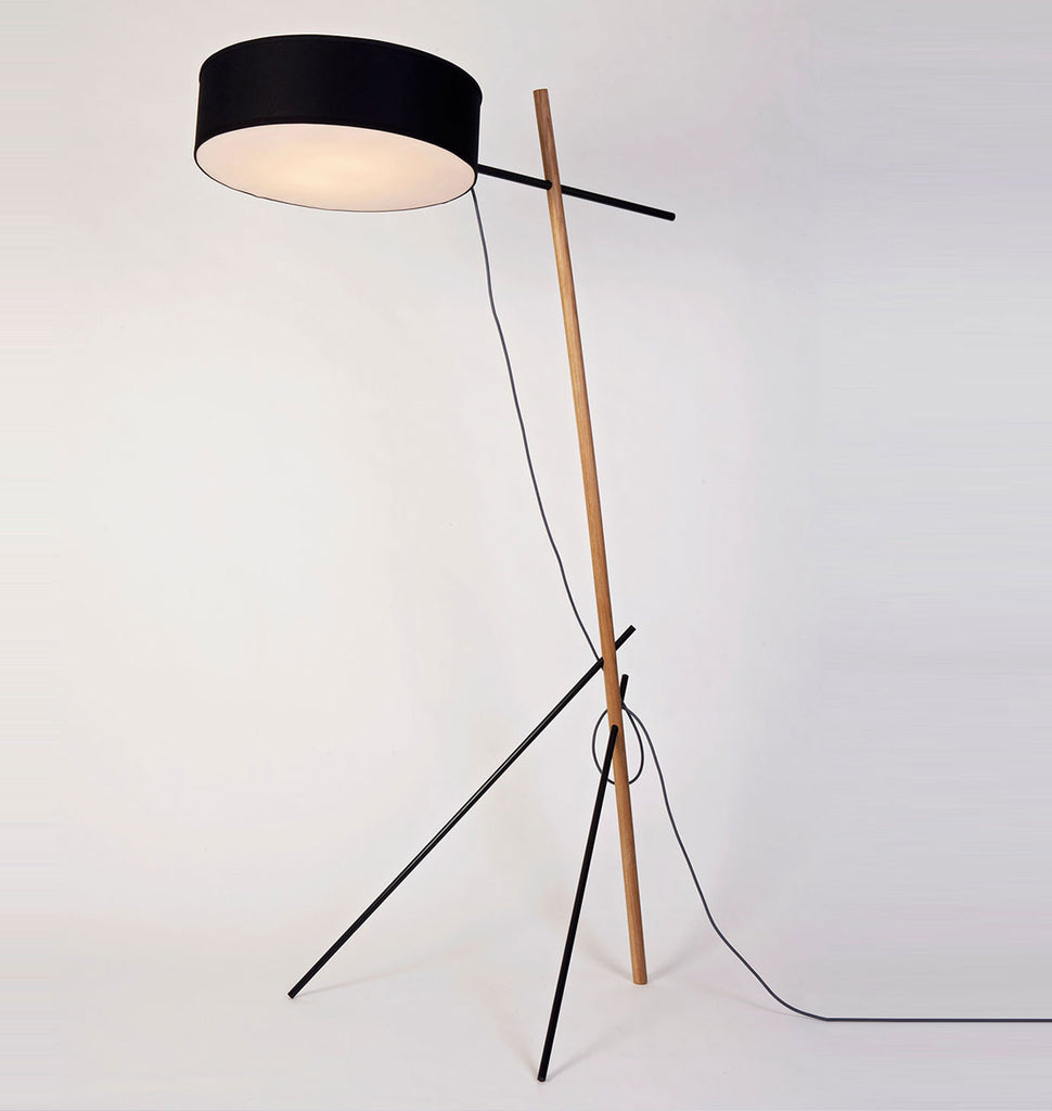 Excel roll hill floor lamp black aloadofball Images