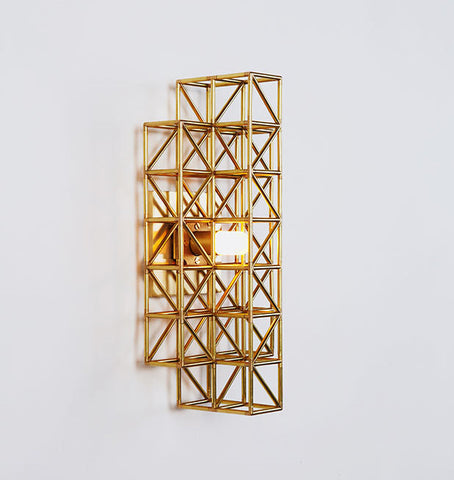 Sconce - 193 (Raw brass)