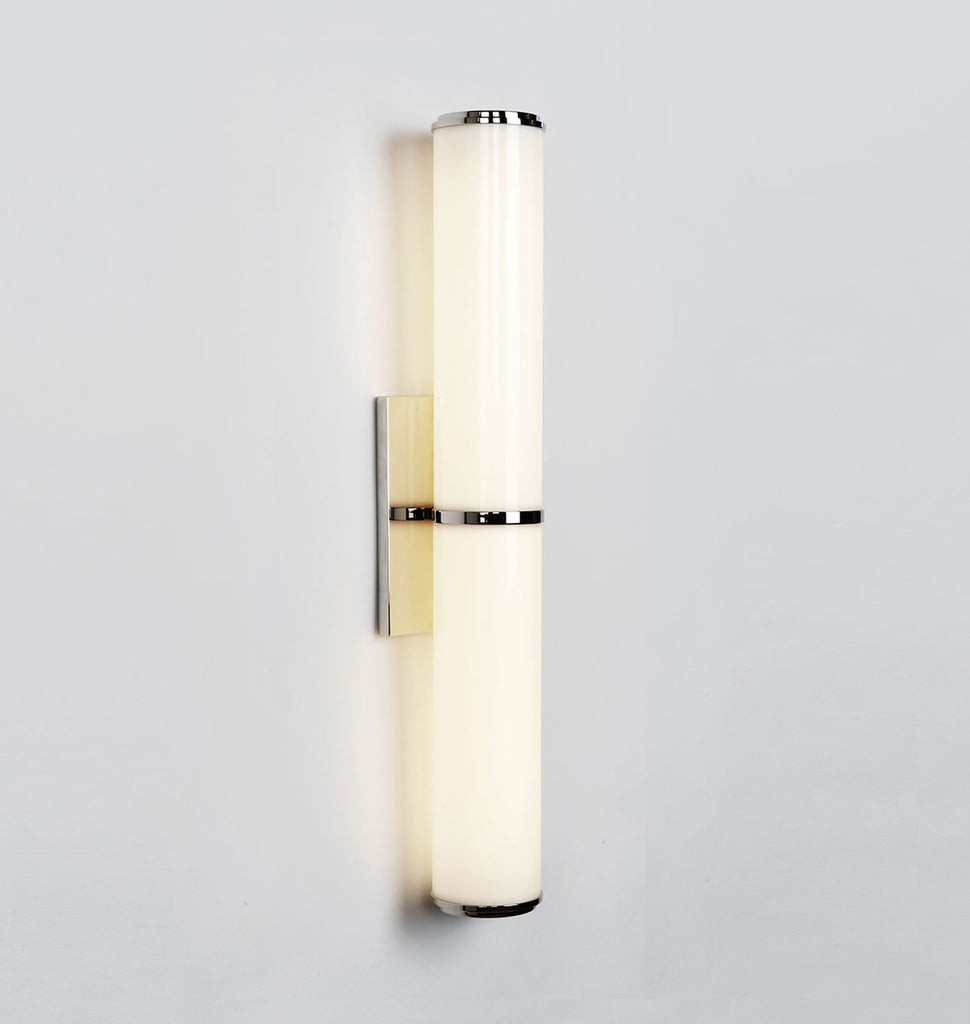 Mini endless roll hill sconce polished nickel amipublicfo Image collections