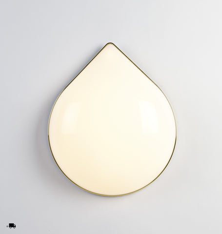 Teardrop (Polished brass)