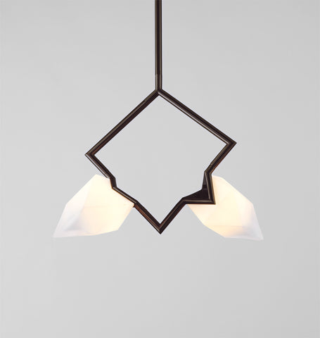 Pendant (Oil-rubbed bronze/White)
