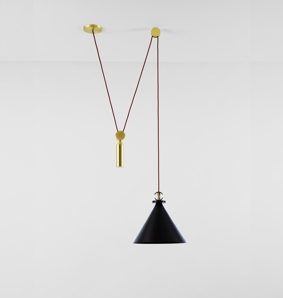 catalog products cp rejuvenation black cone butte pendant aged brass