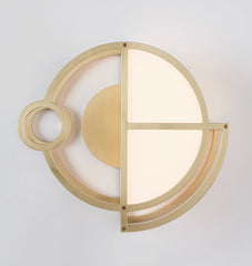 Sconce - 01 (Brushed brass)