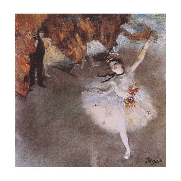 Degas Dancer Sachet - Cotton - European Soaps