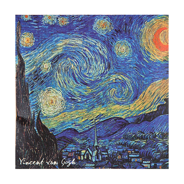 Wholesale Van Gogh Starry Night Sachet - Jasmine - European Soaps