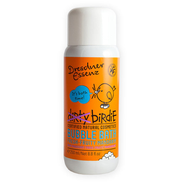 Dirty Birdie Bubble Bath - Fruity Mandarin - European Soaps