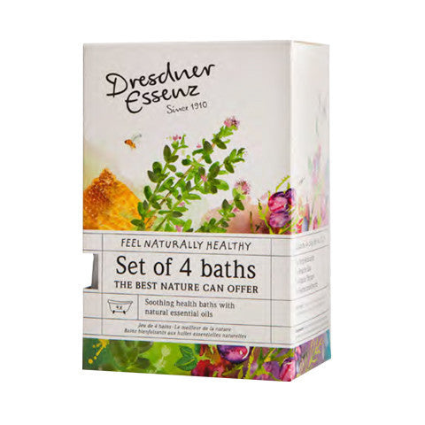Set of 4 Assorted Bath Essences