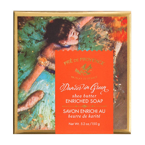 Wholesale Dancer in Green Gift Box (150g) - European Soaps