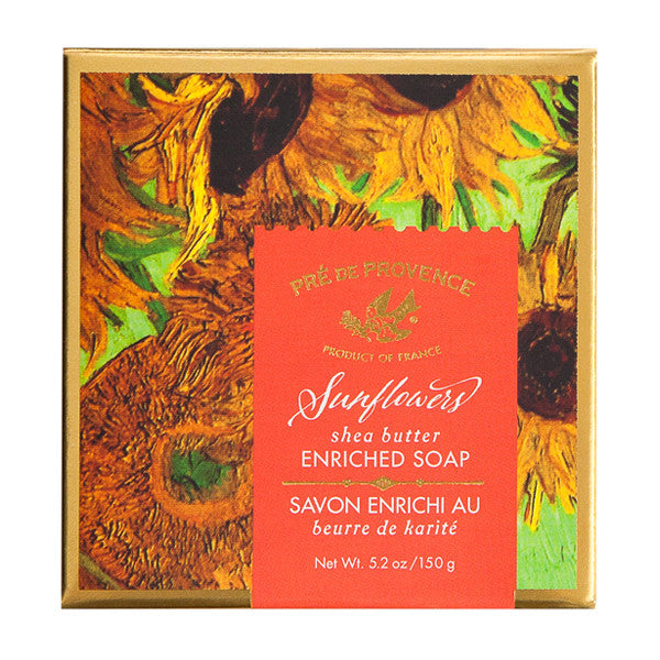 Wholesale Van Gogh Sunflowers Gift Box (150g) - European Soaps