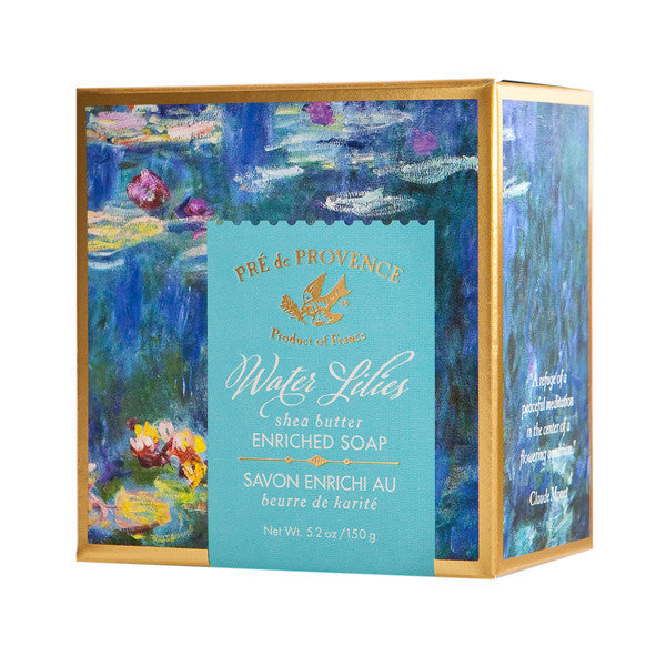 Wholesale Water Lilies Enriched Soap (150g) - European Soaps