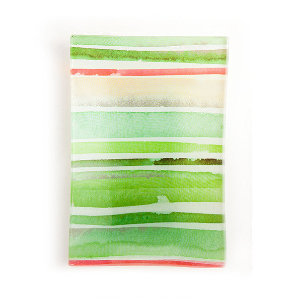 Via Mercato Soap Dish - Green - European Soaps
