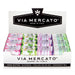 Wholesale Via Mercato Mini Soap Assortment - European Soaps