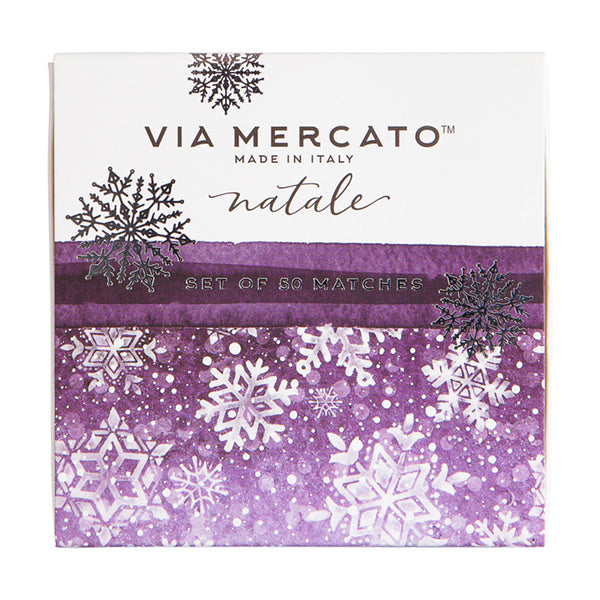 Wholesale Natale Match Box Set - Falling Snow - European Soaps